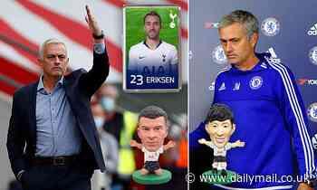 Tottenham's official club shop is still selling no Jose Mourinho merchandise