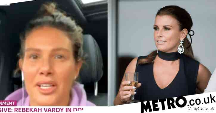 Rebekah Vardy addresses 'tough' Coleen Rooney court battle but will do 'whatever it takes to clear name'