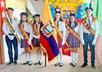 Yantzaza: alumnos reciben galardones : Noticias Loja - La Hora (Ecuador)