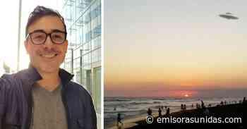 Francisco Páez crea incertidumbre con imágenes de supuesto Ovni en el Puerto San José - Emisoras Unidas