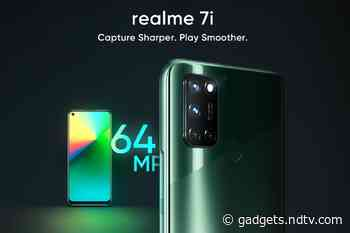 Realme 7i Set to Launch in India on October 7, 55-Inch SLED 4K TV and Realme Watch S Pro Expected as Well