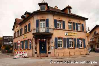 Gottenheim kauft Gebäude des Chinarestaurants Lotus, um es sanieren zu lassen - Gottenheim - Badische Zeitung