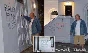 Ex-councillor pleads not guilty to criminal damage over Dickens' museum graffiti