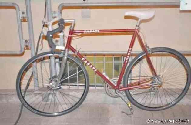 POL-OS: Osnabrück: Fahrraddieb festgenommen- wem gehört das Rennrad?