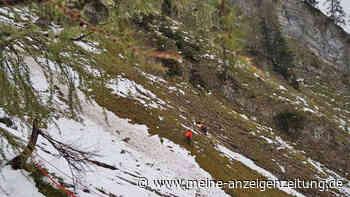 Kurze Hosen und Straßenschuhe trotz Winter-Einbruch: Urlauber gehen wandern - 29-Jähriger stürzt 100 Meter tief