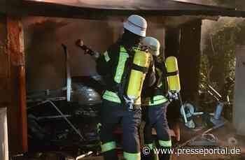 FW-HAAN: Mutter und fünf Kinder retten sich vor Flammen