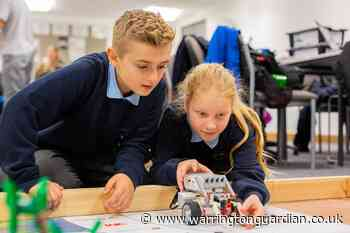 How schools in Warrington can try coding and robotics for free