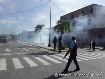 Reportan represión contra manifestantes en San Felipe y Yaritagua - El Carabobeño