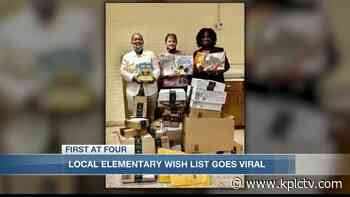 Carver Elementary creates wish-list to replace books damaged by Hurricane Laura - KPLC