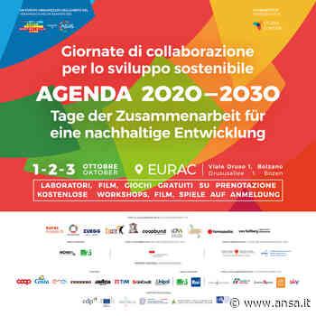 Agenda 2030: giornate di sviluppo sostenibile a Bolzano - Agenzia ANSA