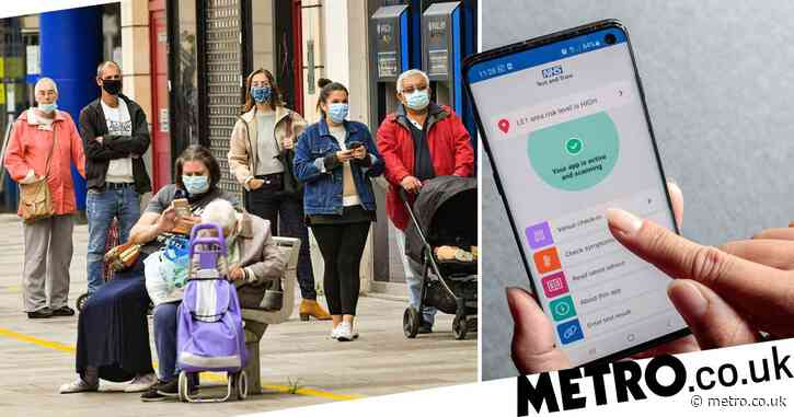 Local lockdowns 'could come into force at any time' using NHS app data