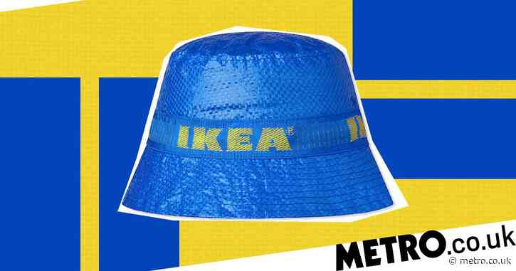 Ikea launches limited edition blue and yellow branded bucket hat