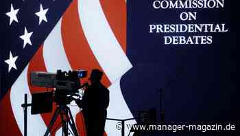 USA im Wahlkampf: Keine Faktenchecks im ersten TV-Duell von Biden und Trump