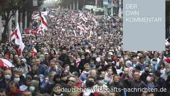 Demos in Weißrussland: Für die EU spielen Corona-Regeln plötzlich keine Rolle mehr