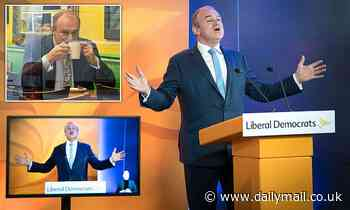 HENRY DEEDES on caring, sharing Lib Dem leader Ed Davey's party conference speech