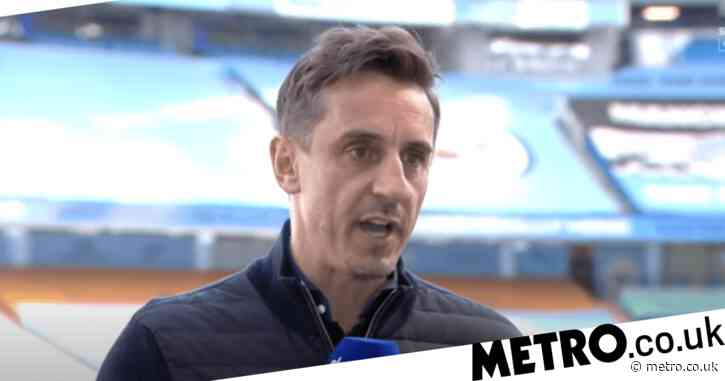 Gary Neville changes his Premier League title prediction after Liverpool's victory over Arsenal