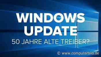 Windows Update: 50 Jahre alte Treiber zum Download?