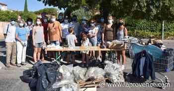 Velaux : les déchets au coeur de la première action citoyenne - La Provence
