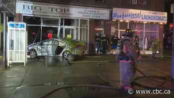Police investigate after car crashes through window at Big Top Family Restaurant