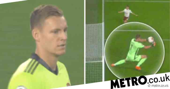 Robert Green spots error Bernd Leno made for Liverpool's first goal against Arsenal