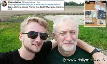Jeremy Corbyn's hemp-selling son Tommy blasts police for raiding homes for 'TINY amount of cannabis'