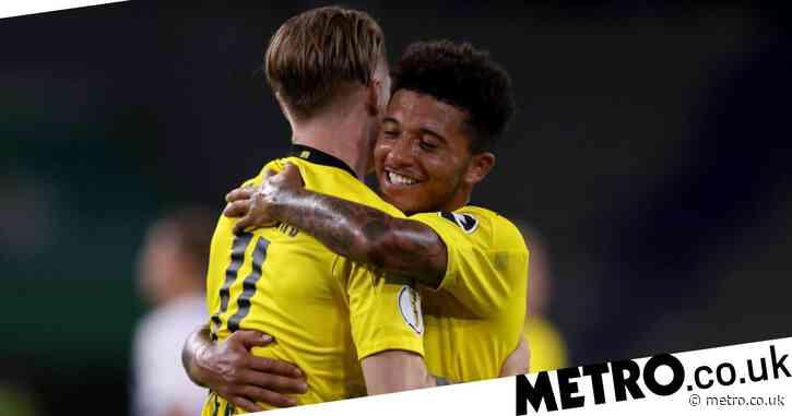 Marco Reus speaks out on Jadon Sancho's future as Manchester United prepare final bid