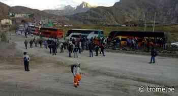 Junín:Mineros bloquean Carretera Central en Morococha y hay decenas de vehículos varados - Diario Trome