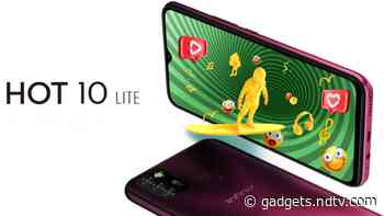 Infinix Hot 10 Lite With MediaTek Helio A20 SoC, 5,000mAh Battery Launched: Price, Specifications - Gadgets 360