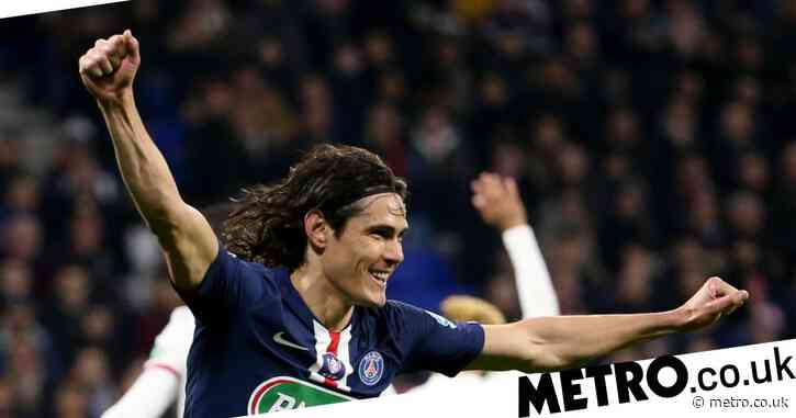 Manchester United in talks with Edinson Cavani over summer transfer