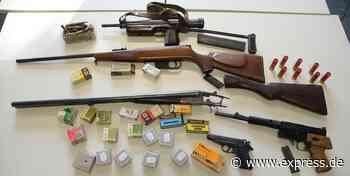 Razzia bei Waffennarr in Much: Weltkriegswaffe zum Verkauf - Express.de