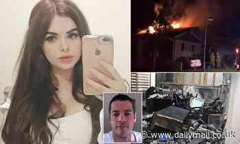 Jilted boyfriend's final words before he set fire to ex-girlfriend's Ipswich home