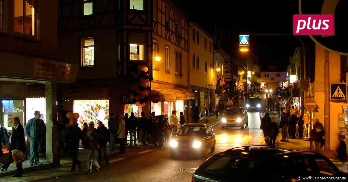Late-Night-Shopping in Usingen: Wernard begrüßt Eigeninitiative - Usinger Anzeiger