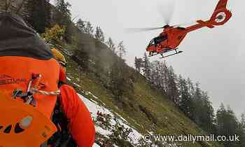 British man, 29, survives falling more than 300ft while trying to climb German mountain