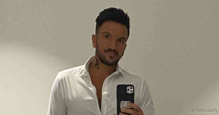Peter Andre gets fans all riled up as he hints at new neck tattoo, but not everyone is a fan
