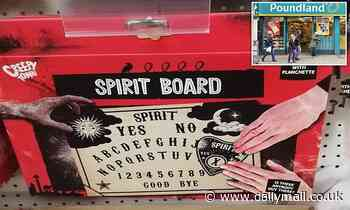Medium blasts 'irresponsible' Poundland for selling £1 OUIJA boards for Halloween gatherings