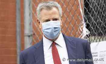 De Blasio says he'll start issuing fines to people not wearing masks