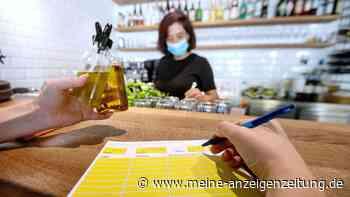 Corona in Deutschland: Falsche Angaben in Gastronomie - in einem Bundesland droht bis zu 1000 Euro Bußgeld