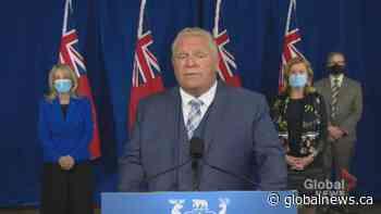 Coronavirus: Ontario announces additional $540 million funding for long-term care homes