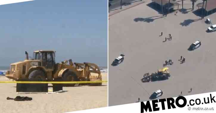 Woman sleeping on beach run over by tractor and killed