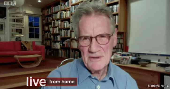 Sir Michael Palin recalls eating days old camel liver in Algeria that left him being sick mid interview