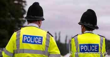 "Policeman 'slapped officer on bottom saying ""naughty girl"" for making a tea'"