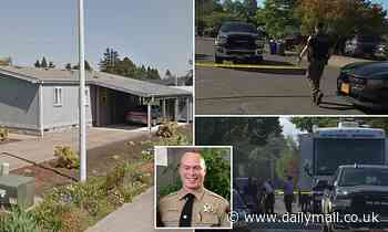 Authorities identify the 34-year-old suspect who held a family hostage in an Oregon home