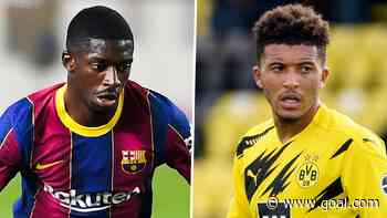 No Sancho bid yet as Man Utd consider loan move for Barcelona's Ousmane Dembele