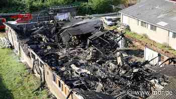 Stall brennt in Klipphausen ab | MDR.DE - MDR