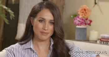 Meghan Markle insists she's 'not controversial' and describes tearful struggles