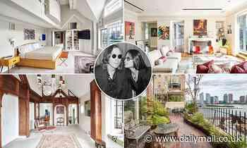 Manhattan penthouse where John Lennon lived during Yoko Ono split is listed for $5.5 million