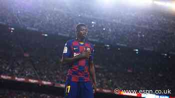 Sources: Man United eyeing Barcelona's Dembele