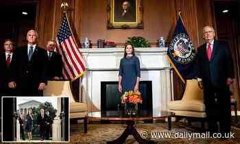 SCOTUS nominee Amy Coney Barrett meets Republican senators