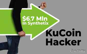 KuCoin Hacker Moves $6.7 Mln in Synthetix Network Token (SNX) and Keeps Using Uniswap - U.Today