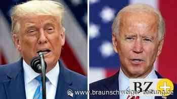 US-Wahl 2020: TV-Duell Trump gegen Biden: Die US-Debatte im Live-Ticker